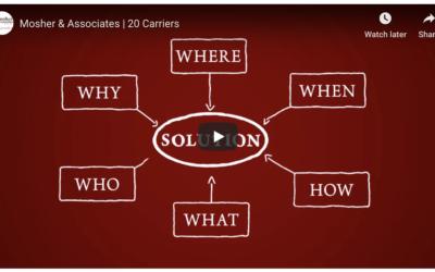 Mosher & Associates   20 Carriers
