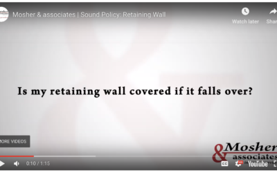 Sound Policy: Retaining Wall